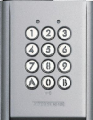 AC10S Surface Mount Keypad