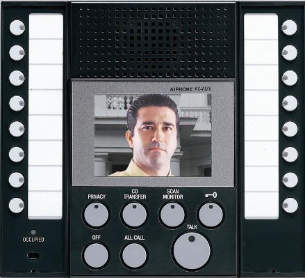AX8MV Colour Video Master Station